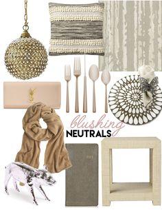 Winter Wish List: blushing neutrals — The Decorista  #copper blush  #knockoutneutrals