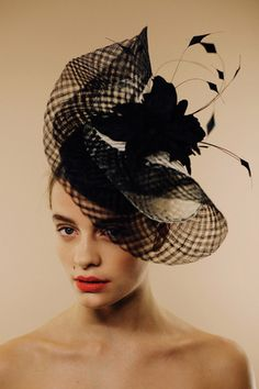 """Awon Golding Millinery S/S 2014 """"Colori Gelato"""" Collection Luce."""