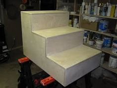 Dog Stairs - Kevin's Projects
