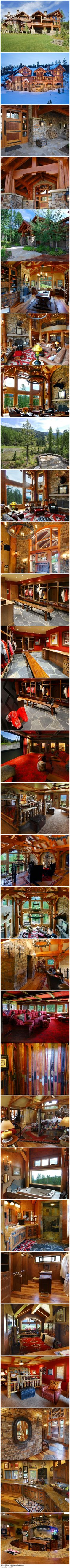 The Ultimate Mountain Home | When can I move in?