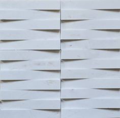 Brogliato Revestimentos - Coleções - 3D Mosaic - D060 Branco Atenas - 30x30cm.
