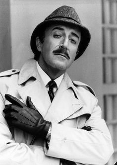 Peter Sellers, forever in search of the Pink Panther!