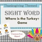 Find the Turkey Game How to play: The words included are: I, a, my ,the, go, to, like ,he, come, here, this, me, for, where, do, you, look, one, se...