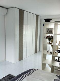 white closet i made for a friend