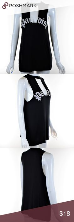"""Color Code Collection Black Tank Top Size S Color Code Collection Black Tank Top Size Small in Excellent Condition.  Pit to Pit: 16"""" Collar to Bottom of Shirt: 25"""" Color Code Collection Tops Tank Tops"""