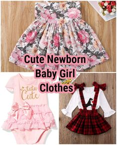 Cute Newborn Baby Girl Clothes - Alison blog Cute Newborn Baby Girl, Cute Baby Girl Outfits, Cute Babies, Cute Outfits, College Outfits, Everyday Outfits, Summer Dresses, Clothes For Women, Girls