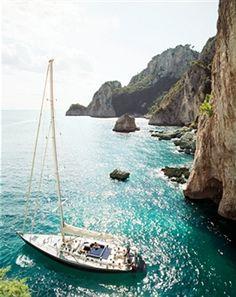 Wishing I was in Capri, swimming in the Mediterranean..