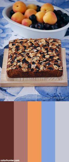Oat Spelt Cherry Cake Color Scheme