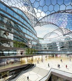 Joseph Abhar -Chongqing Shopping center interior