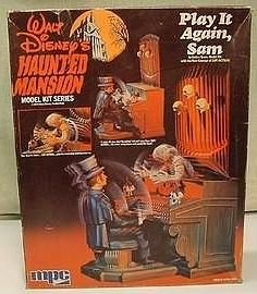 """""""HAUNTED MANSION"""" kits made by  MPC - I built them all, along with the """"PIRATES OF THE CARIBBEAN"""" kits in 1974"""