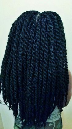 Marley/Havana twists, love this protective style!