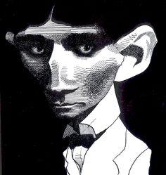 Franz Kafka by David Levine