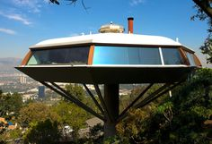 Space age architecture by John Lautner