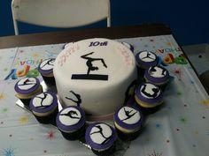 Gymnastic birthday cake!