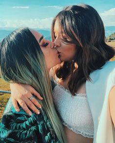 Date a lesbian for fun? You can have it in our lesbian club! Cute Lesbian Couples, Lesbian Love, Lesbian Art, Pink Love, Girls In Love, Couples Lesbiens Mignons, Girlfriend Goals, Love Always Wins, Fotos Goals