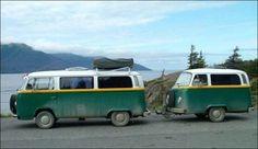 camper with camper