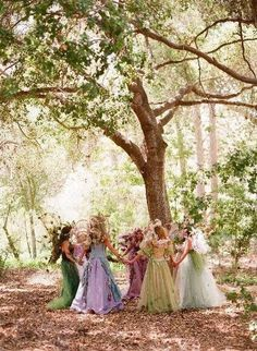 playing with the fairies