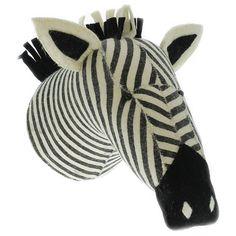 Fiona Walker England Zebra Stripe Print Wall Decor
