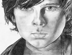 Carl Grimes by loslinos on DeviantArt Amazing Drawings, Art Drawings, Walking Dead Characters, Walking Dead Art, Chandler Riggs, Dead Zombie, Carl Grimes, Drawing Artist, Tv Guide