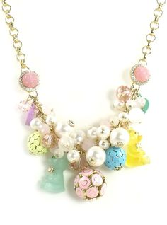 betsey johnson jewelry | Betsey Johnson Jewelry Candyland Candy Cluster Necklace New 2012 ...