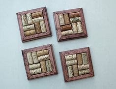 DIY Wine Cork Coasters kit