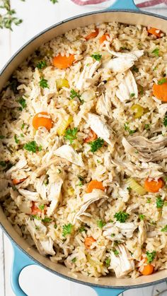 Learn How to Make Chicken and Rice just like grandma used to make. Stovetop, Instant Pot, or Crockpot. So why is my mom's chicken and rice recipe so darn good?Because Nana keeps it simple, yet doesn't Southern Chicken And Rice, Chicken And Rice Crockpot, Chicken Rice Recipes, Easy Chicken And Rice, Chicken And Rice Dishes, Boiled Chicken And Rice, Chicken Flavored Rice, White Chicken, Chicken Chili