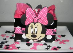 Minnie Mouse Centerpiece/Balloon Base  Black by YourPartyShoppe, $15.00