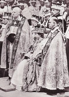 """2 June 1953 | Queen Elizabeth II is coronated in Westminster Abbey."""