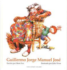 Libro infantil: Guilermo Jorge Manuel José.