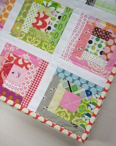 by Red Pepper Quilts............girls, would something like this be easier?....but just as fun?