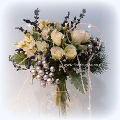 Winter wonderland wedding bouquet with crystals in artificial flowers Wedding Bouquets, Wedding Flowers, Winter Wonderland Wedding, Artificial Flowers, Silk Flowers, Shades Of Blue, Wedding Designs, Destination Wedding, Floral Wreath
