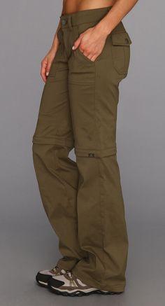 Hiking pants with convertible shorts; Elastic Waist band