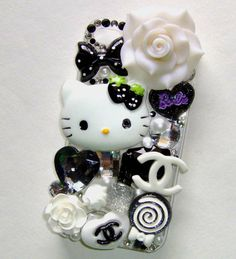 Cell Phone Bling Kits | Details about DIY Hello Kitty Bling Bling Cell Phone Case Deco Kit