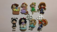 8 bamboline in fimo, by GattaNera, 22,50  su misshobby.com