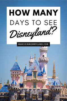Planning your trip to Disneyland Resort in Anaheim, CA and wondering how many days you'll need? Let me break it down for you so you can plan the ultimate trip to Disneyland with your family! Plus, find out how you can save money on Disneyland tickets and hotel packages. #Disneyland