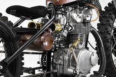 Honda CB450 – Steel Bent Customs   Pipeburn.com
