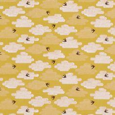 100% bio katoen - 110 cm breed - Medium weight Uit de collectie 'Up, up and Away' van Cloud9 Fabrics. Dankzij deze print met zwaluwen komen we al helemaal in lentesfeer! De stof heeft de typische Cloud9 kwaliteit: zacht, makkelijk te verwerken, strijkt zoals niets, duurzaam én volledig ecologisch geproduceerd.