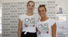 #sport - #salute - Carolina Kostner e Tania Cagnotto alla terza tappa di OVS Kids Active Camp, Roma, 05 ottobre