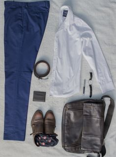 Back to school outfit ! Loving my bag and my monkstraps. It's all about men's fashion.