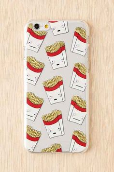 Shop Skinnydip French Fries iPhone Case at Urban Outfitters today. Iphone Cases Disney, Iphone Case Covers, Tech Accessories, Cell Phone Accessories, Phone Icon, Girl Wallpaper, French Fries, Awesome Stuff, Fun Stuff