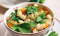 Massa com legumes