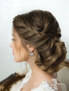 pandora Vickez saved to BeautyWedding Hairstyles » Come and See why You Can't Miss These 30 Wedding Updos for Long Hair » Chic side french braided low twisted updo wedding hairstyle #weddingideas #weddinghairstylesforshorthair #weddinghairstyleswithbraidsboho