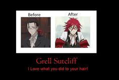 Black Butler ~~ Fashionable Grell Sutcliff