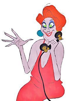Madame Medusa in The Rescuers