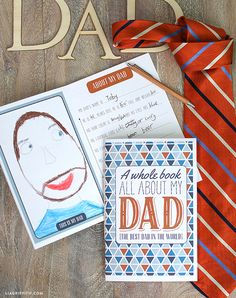 Lia Griffith | DIY Father's Day Best Dad Book