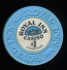 #LasVegasCasinoChip of the Day is a $1 Royal Casino 3rd issue you can get here https://www.all-chips.com/ChipDetail.php?ChipID=16963 #CasinoChip #LasVegas