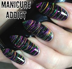 Manicure Addict: Spun Sugar Nails