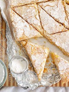Meyer Lemon Bars | foodiecrush.com