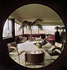 Art Deco revival, Regent's Park apartment 1973