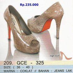 High Heels Golfer Asli Bandung  Rp.235.000 order PIN BBM 7D541E07 / 52897E75